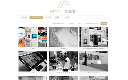 Arton Design - Refonte du site internet. | Last Portfolio | Scoop.it