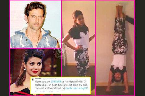 Priyanka Chopra takes up Hrithik Roshan's Bang Bang challenge | Wishesh News Brings You all That Matters | Scoop.it