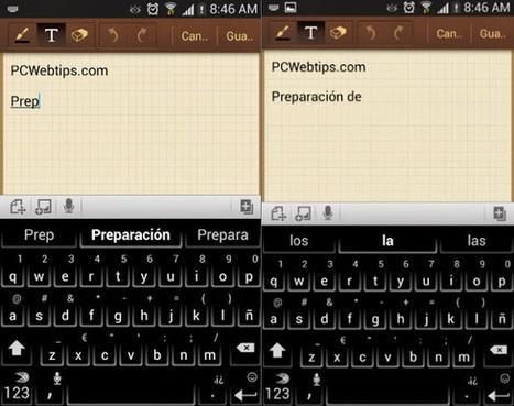 6 Consejos y trucos para Dominar el Teclado de Android | PCWebtips.com | Windows PC - Trucos y Tips | Scoop.it