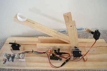 Arduino Controlled Catapult | Electrónica y Arduino | Scoop.it