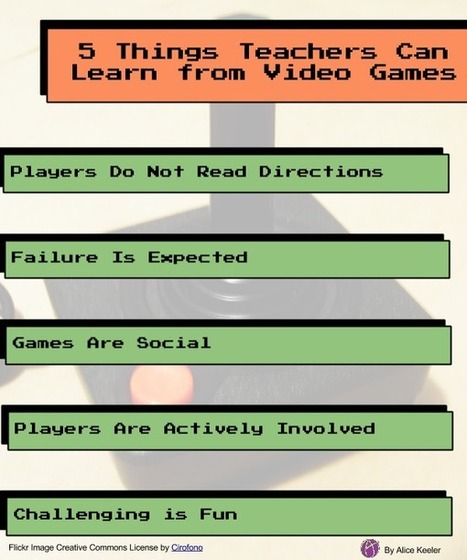 5 Things Teachers Can Learn From Video Games | Gamification for the Win | Scoop.it