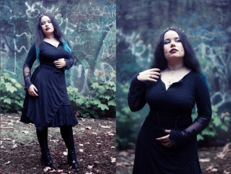 Darkinette of the day : Black N°1 | Infos Mode, Beauté , VIP, ragots, buzz ... | Scoop.it