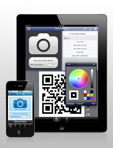 Qrafter - QR Code Reader and Generator for iPhone, iPod touch, and iPad on the iTunes App Store | QR codes Teaching and Learning | Scoop.it
