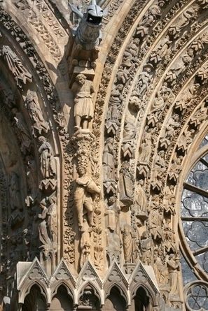 """Reims Cathedral - Reims, France 
