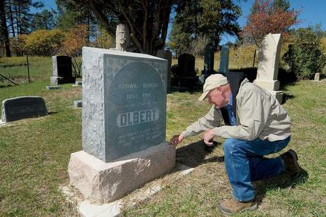 History lives in area graveyards - The Durango Herald | Inscriptions Renovation | Scoop.it