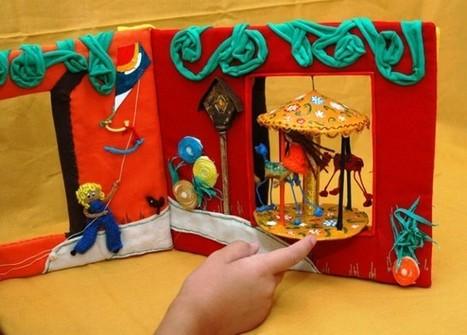 Libros táctiles, una alternativa para niños ciegos | Red Profesional de Bibliotecas Escolares de Granada | Scoop.it