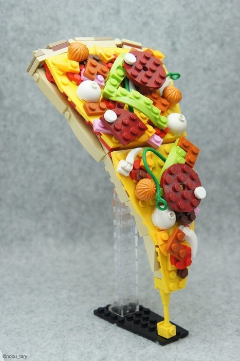 Japanese Lego Master Builds Delicious-Looking Creations From Blocks | Innovation in Education | Scoop.it