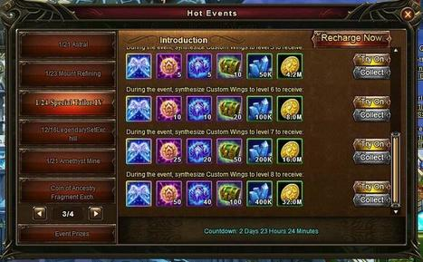 Wartune Addicts Blog: Wartune New Events 01/24: Special Tailor, Clothing Identification, Coin of Ancestry Fragment Exchange, and Recharge Gift Pack | Wartune Addicts | Scoop.it