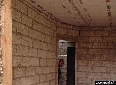 Murature interne in Canapa e Calce | Costruire con le balle di paglia www.caseinpaglia.it | Scoop.it