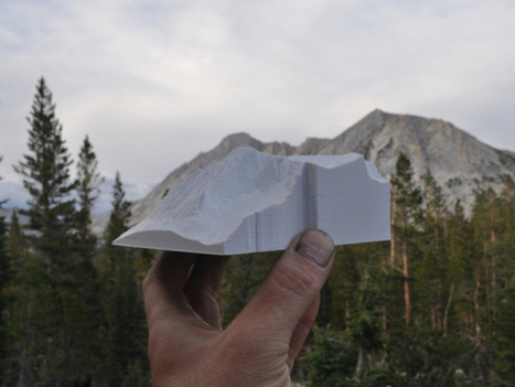 3D Printing Topographic Maps Using Lidar | 3D Printing and Fabbing | Scoop.it