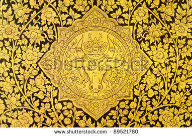Ancient Thai wall pattern   Year 3-4 Arts: Visual arts - Thai patterns   Scoop.it