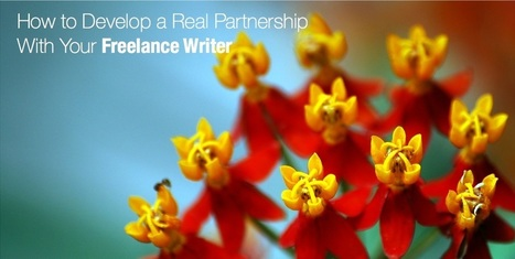 How to Develop a Real Partnership with your Freelance Writer   Content Strategy Think Tank   Scoop.it