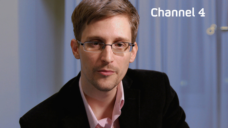 """OpEdNews Article: Article: """"Tracked everywhere you go"""": Snowden delivers Xmas message on govt spying 