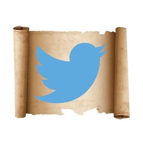 Twitter: 17 tuits/tweets históricos que quizá no conozcas (+1) [Actualizado] | Educacion, ecologia y TIC | Scoop.it