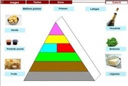 La pyramide alimentaire – ressource, activité TBI-TNI | FLE et nouvelles technologies | Scoop.it