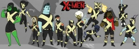 P:R Approved: Thomas Perkins' Uncanny X-Men! | Art | Scoop.it