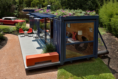 Five Inspirational Shipping Container Homes | sustainable architecture | Scoop.it