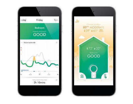 See How Clean (Or Toxic) Your Home's Air Is With Dyson's New App-Connected Purifier   Big Data Solutions & Use Cases   Scoop.it