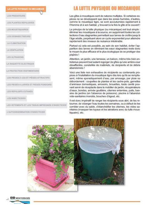 La protection personnelle : Comment se protéger contre les moustiques - EID Méditerranée | Insect Archive | Scoop.it