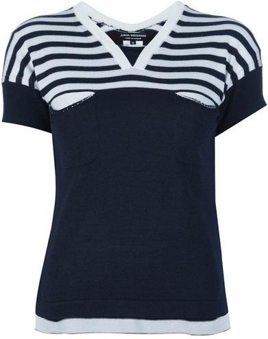 Shoeniverse: Outfit Options Week - JUNYA WATANABE Vneck Top & MARNI Printed Pocket Skirt | COMME des | Scoop.it