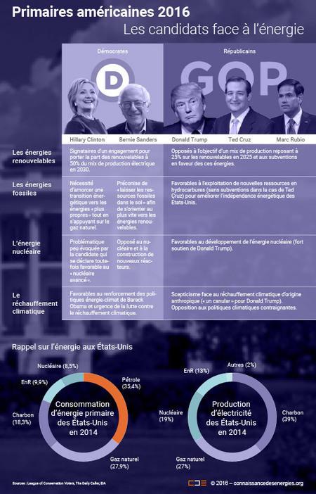 Primaires américaines 2016 : les positions des candidats en matière d'énergie | Multicanal et crosscanal | Scoop.it