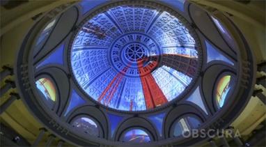 Una cúpula de cristal convertida en lienzo: mapping de grandes ... | Mapping | Scoop.it