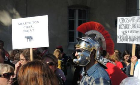 Manif anti-réforme du collège : tous en toge !La lettre de Causeur   KILUVU   Scoop.it