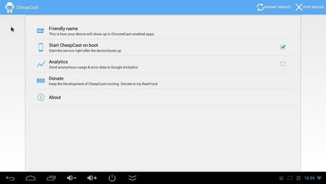 CheapCast Chromecast Emulator for Android  (Beta) is Available for Download | Embedded Systems News | Scoop.it