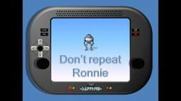 Don't repeat Ronnie | Skills for Life Resources | Scoop.it