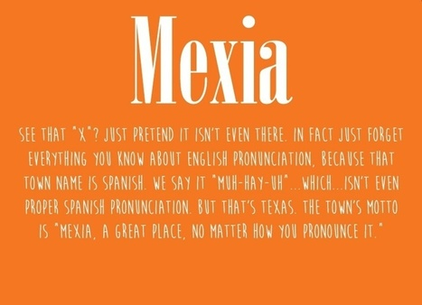 15 Texas Places Non-Texans Mispronounce All the Time | Visit San Antonio, Texas | Scoop.it