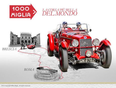 1000 Miglia 2013 - From May 16th to 19th | Italia Mia | Scoop.it