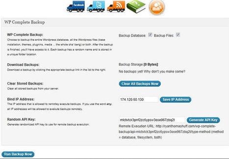 Most Used Website Backup Plugins for WordPress   Web Design and Wordpress   Scoop.it
