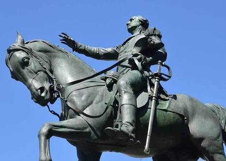 Bronze Statue of George Washington at Union Square in New York | Art & Design Matters | Scoop.it