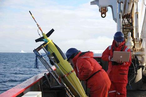 'Dolphin' Robots Join Tech Effort on Antarctica's Melt | Robots and Robotics | Scoop.it