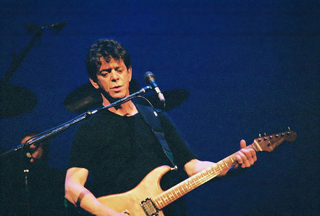 Lou Reed — Velvet Underground Frontman, Influential Solo Musician | There will always be music | Scoop.it