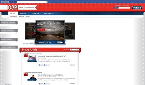 RNC Facebook App Hopes To Engage Voters - AllFacebook | News You Can Use - NO PINKSLIME | Scoop.it
