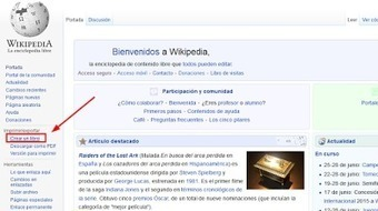 Wikilibros. Recopilando páginas de Wikipedia | E-Learning, M-Learning | Scoop.it