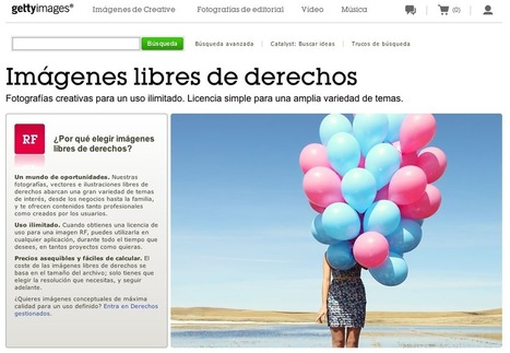 En la nube TIC: Getty Images: 35 millones de fotografías libres | EDUCATIC | Scoop.it
