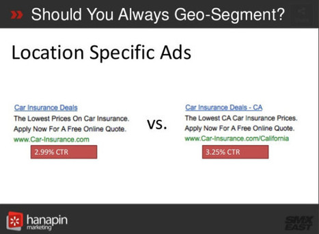 Hot Tactics For Geo-Targeted Ads On Google & Bing | Search Engine Marketing Trends | Scoop.it