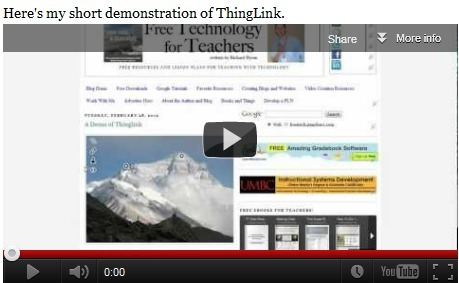 Free Technology for Teachers: Make Interactive Images on ThingLink Education | Technology in Language classes | Scoop.it
