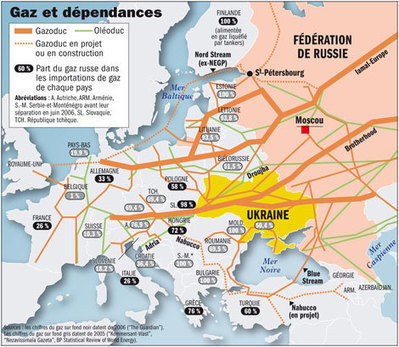 Gazprom annonce le relèvement des tarifs du gaz (géographie) | Le marché mondial du gaz . | Scoop.it
