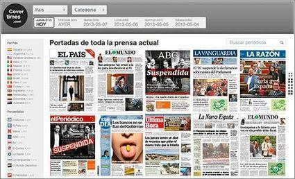 CoverTimes: todas las portadas de la prensa al día | Microsiervos (Internet) | Paco-Benarque | Scoop.it