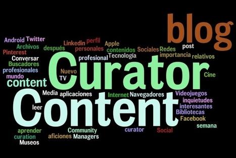 Qué es un Content Curator. Aplicaciones para la Curación de Contenidos | [-e]Learning | Scoop.it