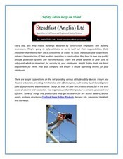 Height Safety Harnesse | Steadfastanglia | Scoop.it