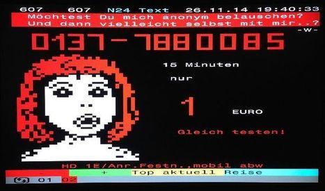 German teletexxxt ads. Photos by Lord Nikon. | ASCII Art | Scoop.it