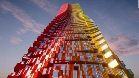 Could 'Containerscraper' transform Mumbai slum? - CNN.com | Southmoore AP Human Geography | Scoop.it