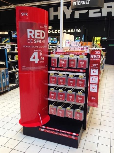 Les forfaits RED de SFR débarquent dans des magasins physiques | Geeks | Scoop.it