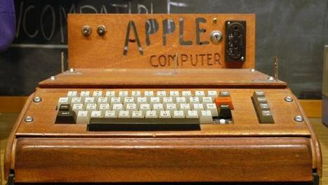 Une Californienne jette un ordinateur Apple I à 200.000 dollars   Le Web, ses évolutions et les NTIC vues par un avocat.   Scoop.it