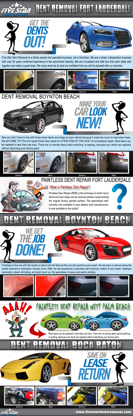 Dent removal Boynton Beach | Dent Removal Fort Lauderdale | Scoop.it