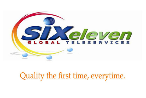 SixEleven Global Telerservices | Quality the first time, everytime | Scoop.it